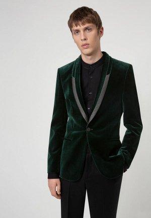 Пиджак Hugo Arti204E1. Цвет: зеленый