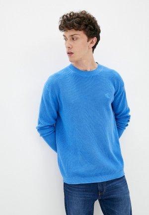 Джемпер Calvin Klein Jeans. Цвет: голубой