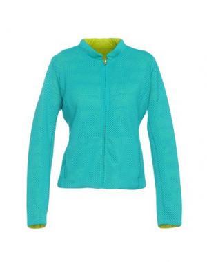 Куртка [C] STUDIO. Цвет: бирюзовый