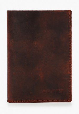 Обложка для документов Duffy. Цвет: коричневый