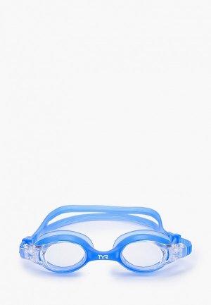 Очки солнцезащитные TYR Swimples Goggle. Цвет: синий