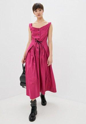 Платье Vivienne Westwood Anglomania. Цвет: розовый