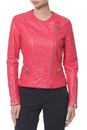 Куртка Anna Rita N. Цвет: бордовый