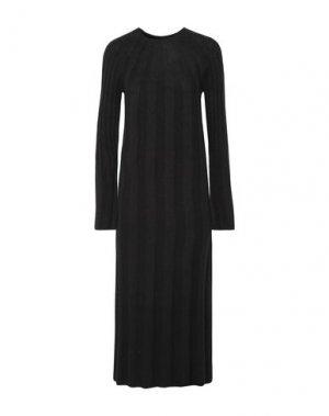 Платье миди ELIZABETH AND JAMES. Цвет: черный