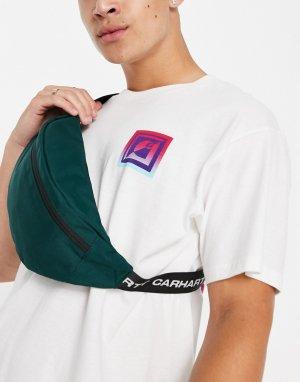Сумка-кошелек на пояс Brandon-Зеленый цвет Carhartt WIP