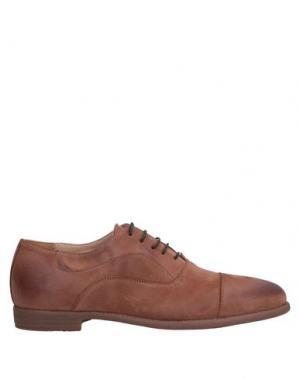Обувь на шнурках ALEXANDER HOTTO. Цвет: коричневый