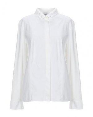 Pубашка AKRIS PUNTO. Цвет: белый