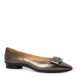 Туфли W295 коричнево-серый GIOVANNI FABIANI