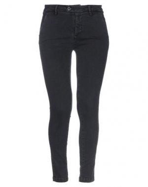 Джинсовые брюки MICHAEL COAL. Цвет: черный