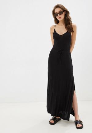 Платье пляжное Beach Bunny HAUTE & COLD. Цвет: черный