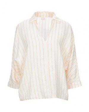 Pубашка DES PETITS HAUTS. Цвет: слоновая кость