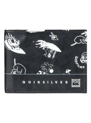 Кошелек Freshness - Черный Quiksilver. Цвет: черный