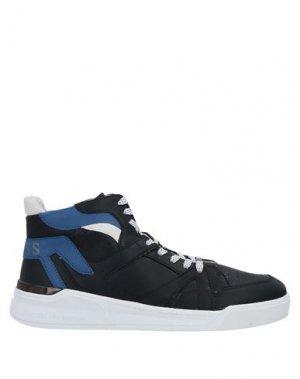 Кеды и кроссовки GUESS. Цвет: черный