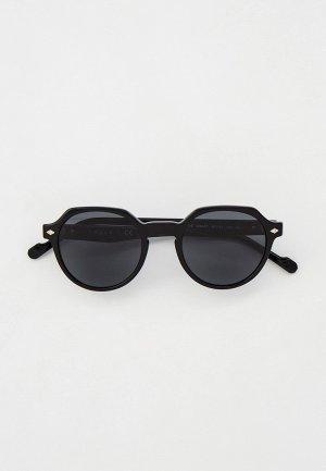 Очки солнцезащитные Vogue® Eyewear VO5370S W44/87. Цвет: черный