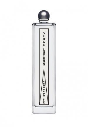 Парфюмерная вода Serge Lutens LEAU DE PAILLE 100 мл. Цвет: прозрачный