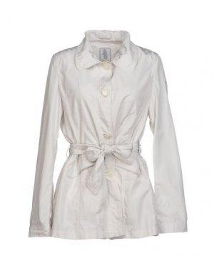 Легкое пальто REFRIGUE. Цвет: светло-серый