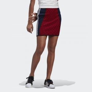 Мини-юбка Paolina Russo Originals adidas. Цвет: черный