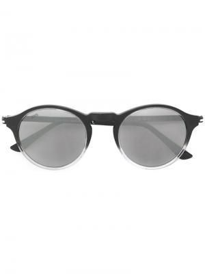 Tods солнцезащитные очки в круглой оправе Tod's. Цвет: черный