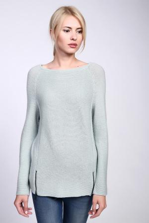 Пуловер Comma. Цвет: зелёный