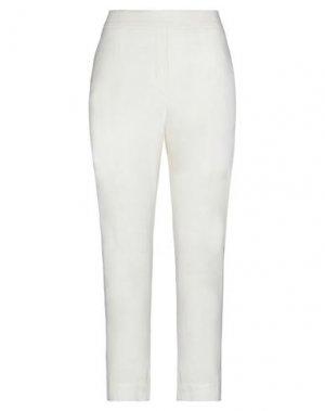 Повседневные брюки LA FABRIQUE. Цвет: белый