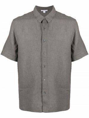 Рубашка с короткими рукавами James Perse. Цвет: серый