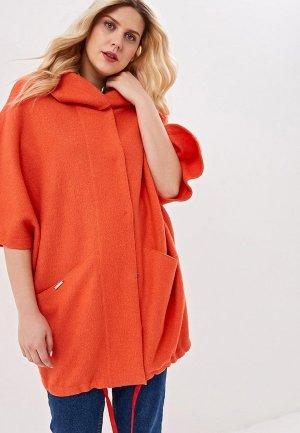 Пальто Marsena. Цвет: оранжевый