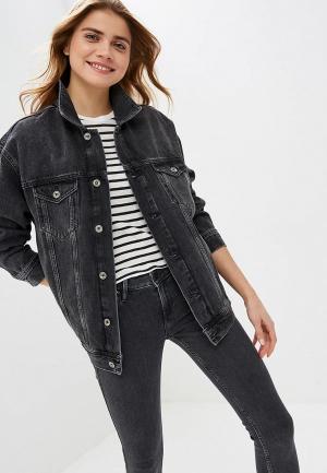 Куртка джинсовая Colins Colin's. Цвет: черный