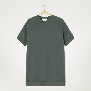 Платье-свитшот LaRedoute. Цвет: зеленый