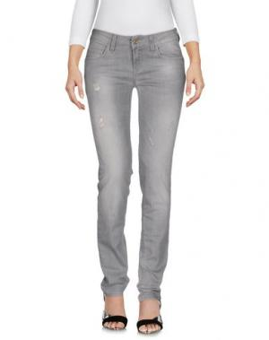 Джинсовые брюки REBEL QUEEN by LIU •JO. Цвет: серый