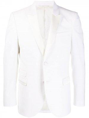 Пиджак на двух пуговицах Neil Barrett. Цвет: белый