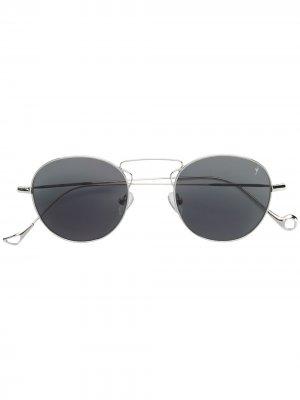 Солнцезащитные очки Gare в округлой оправе Eyepetizer. Цвет: золотистый