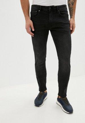 Рубашка джинсовая Trendyol. Цвет: черный