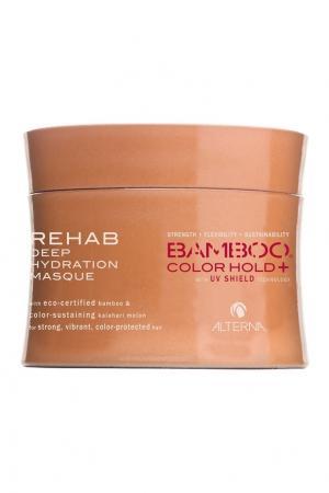 Восстанавливающая маска для волос Bamboo Color Care Rehab Deep Hydration 150ml Alterna. Цвет: multicolor