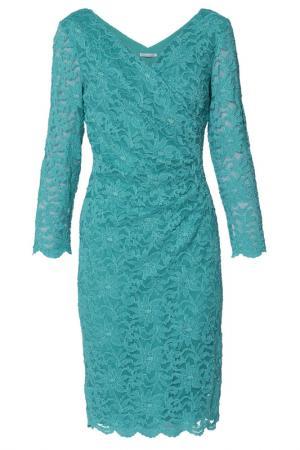 Платье Gina Bacconi. Цвет: green
