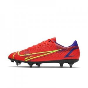 Футбольные бутсы для игры на мягком грунте Mercurial Vapor 14 Academy SG-Pro AC - Красный Nike