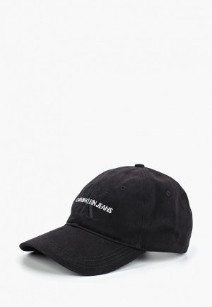 Бейсболка Calvin Klein Jeans. Цвет: черный