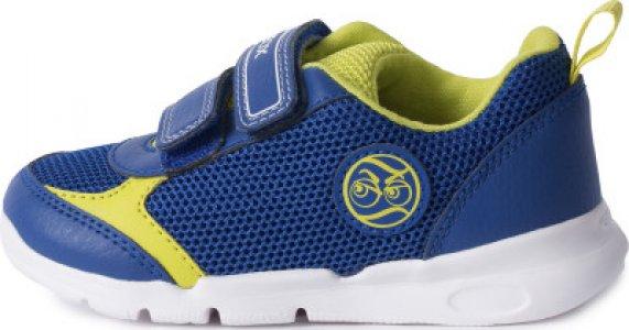 Кроссовки для мальчиков Runner, размер 23 Geox. Цвет: синий