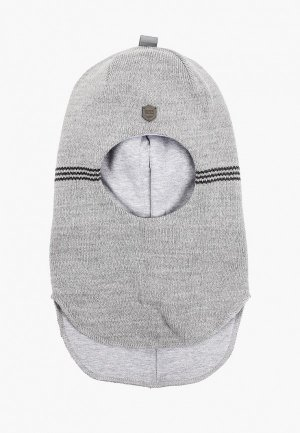 Балаклава Kotik Шлем Флик, с утеплителем. Цвет: серый
