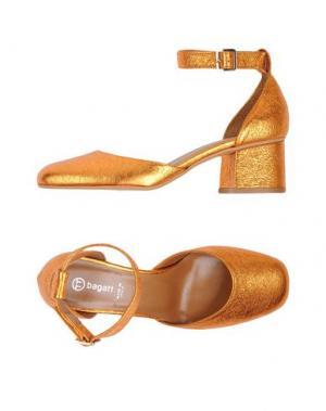 Туфли BAGATT. Цвет: оранжевый
