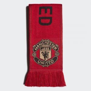 Шарф болельщика Манчестер Юнайтед Performance adidas. Цвет: красный