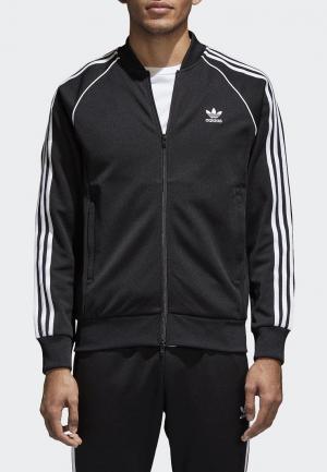 Олимпийка adidas Originals SST TT. Цвет: черный