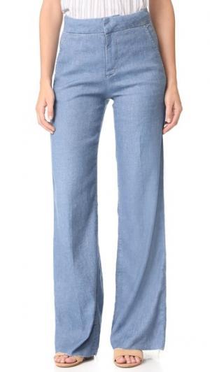 Широкие джинсы в стиле брюк Bessie Joe's Jeans. Цвет: carolee