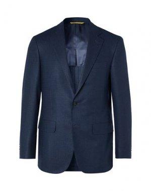 Пиджак CANALI. Цвет: темно-синий