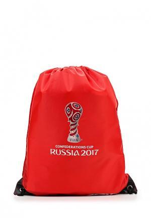 Мешок FIFA Confederations Cup Russia 2017. Цвет: красный