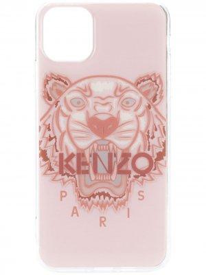 Чехол Tiger для iPhone 11 Pro Max Kenzo. Цвет: розовый
