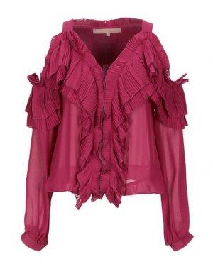 Блузка BABYLON. Цвет: пурпурный