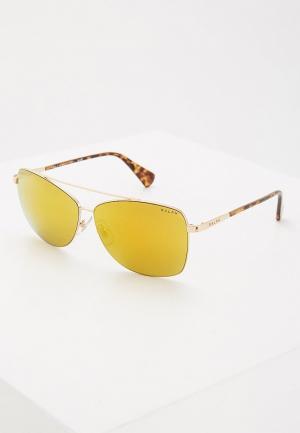 Очки солнцезащитные Ralph Lauren RA4121 32365A. Цвет: золотой