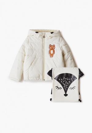 Куртка утепленная Boom. Цвет: бежевый