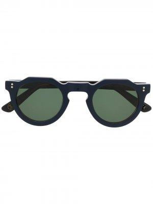 Солнцезащитные очки Pica Lesca. Цвет: синий