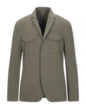 Пиджак JOHN VARVATOS. Цвет: зеленый-милитари